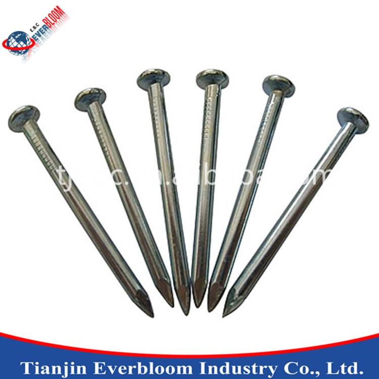 1-5 Inches Zinc Concrete Iron Nail For Concrete Wall,Iron Nails ...
