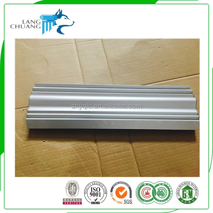 Concrete Aluminum Molds For Making Decorative Gypsum Carving Cornice
