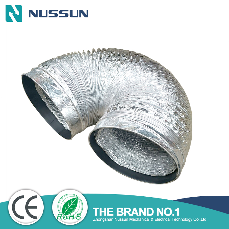 2017 high quality flexible air duct hose,reducer air conditioning duct
