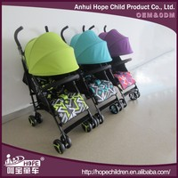 Best Selling European Umbrella Baby Buggy Stroller for Sale With 5-point Harness and Double-lock Folding System