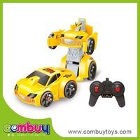 Wholesale remote control high quailty deformation toys electric 1 32 rc car