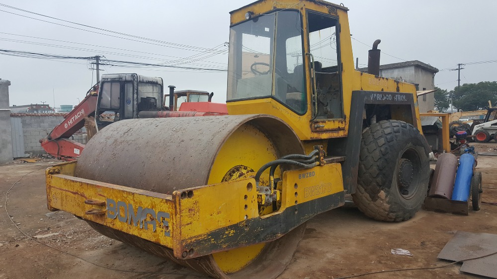 Used BW217D Bomag Road Roller With Good Condition and Price