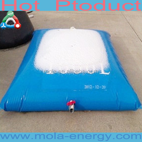 Capacity 1000L 2000L 5000L foldable durable large capacity transport soft water box from China supplier