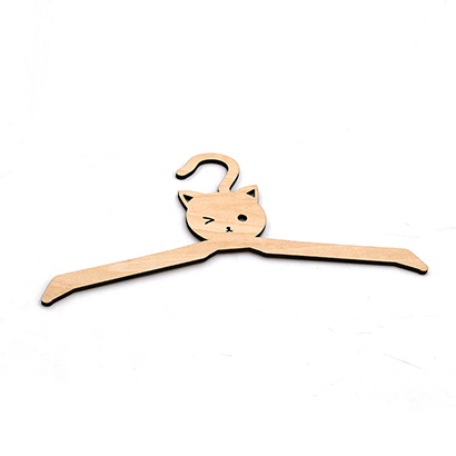 laser cut clothes hanger wood wood hanger home decoration