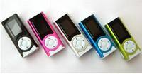 Built in Speaker FM radio digital MP3 Player with LCD display screen