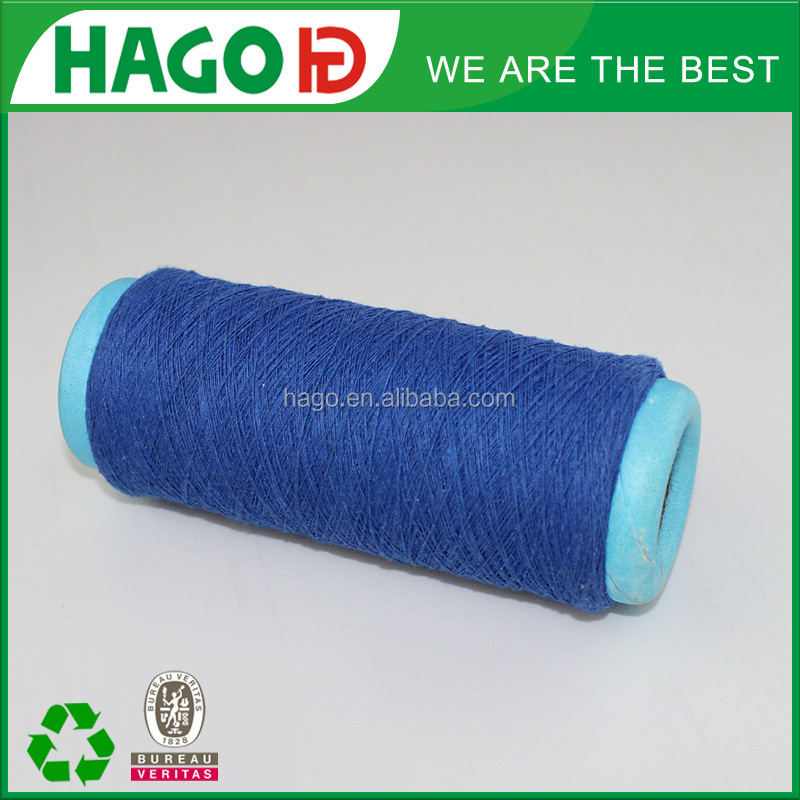 ne21s/1 popular 65/35 50/50 polyester blend cotton knitting yarn for towel knitted from china