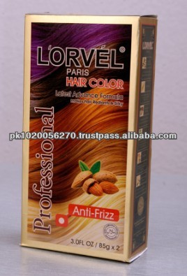 Lorvel Hair Color