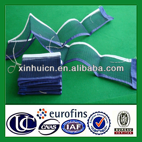 High quality HDPE knotted folding standard sports ping pong <strong>net</strong>