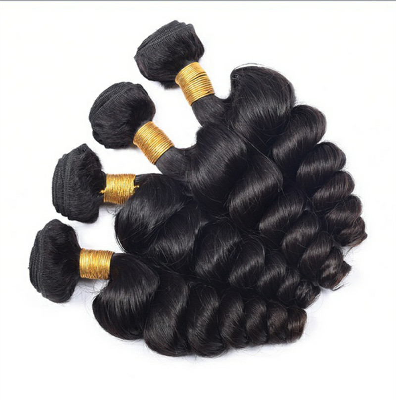 Micro Braid Weft Hair Purple Human Afro Body Wave Extension