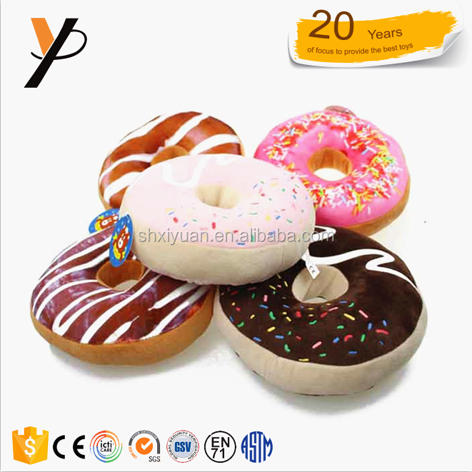 donut plush toys from china of bouquet