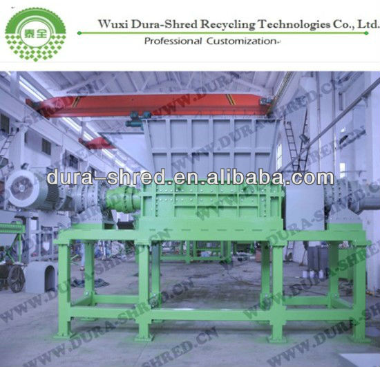 paper shredding system/paper recycling machine
