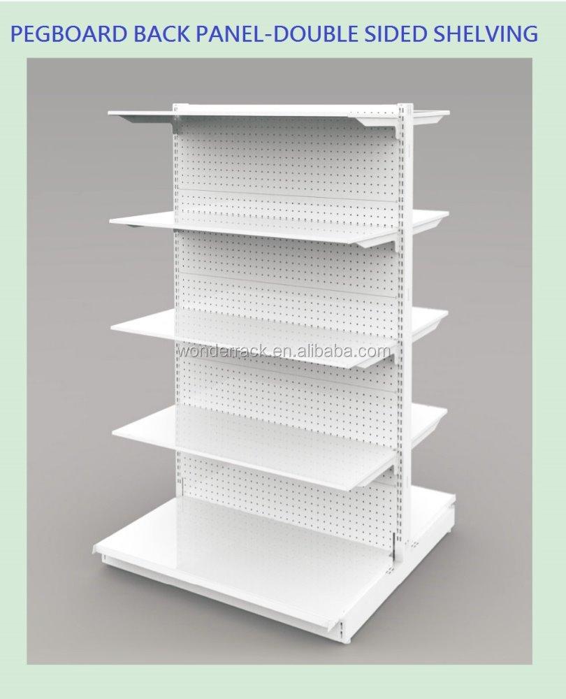 Doble Cara Tablero Panel Trasero Estante De La Tienda - Buy Product ...