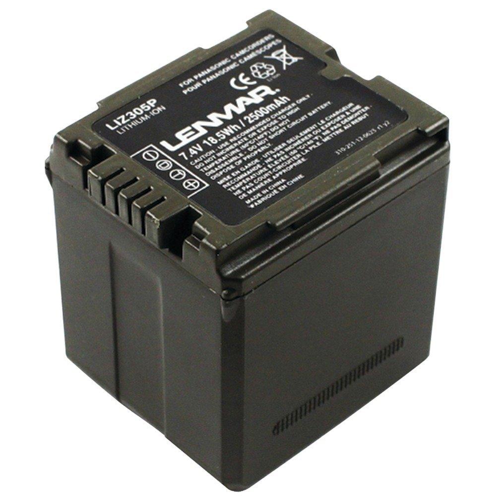 Lenmar LIZ305P Panasonic VW-VBG070, VW-VBG130, VWVBG260 Battery for Panasonic SDR-H40, SDR-H80 Series, SDR-H80 Series and Other Panasonic Camcorders