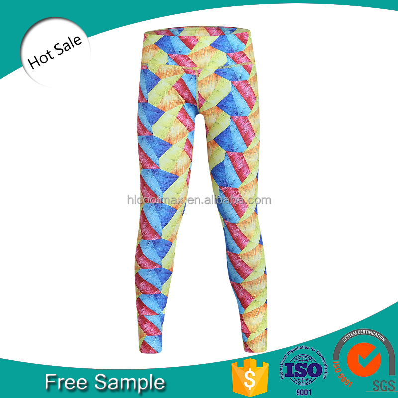 Wholesale Custom Sexy Womens Sport Compression Tights Short