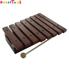 Educational Toys Musical Instrument ,wooden handmade musical xylophone for kids