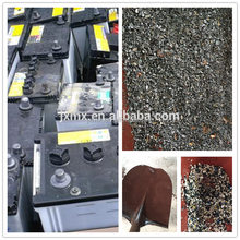 used car lead Acid battery scrap recycling equipment