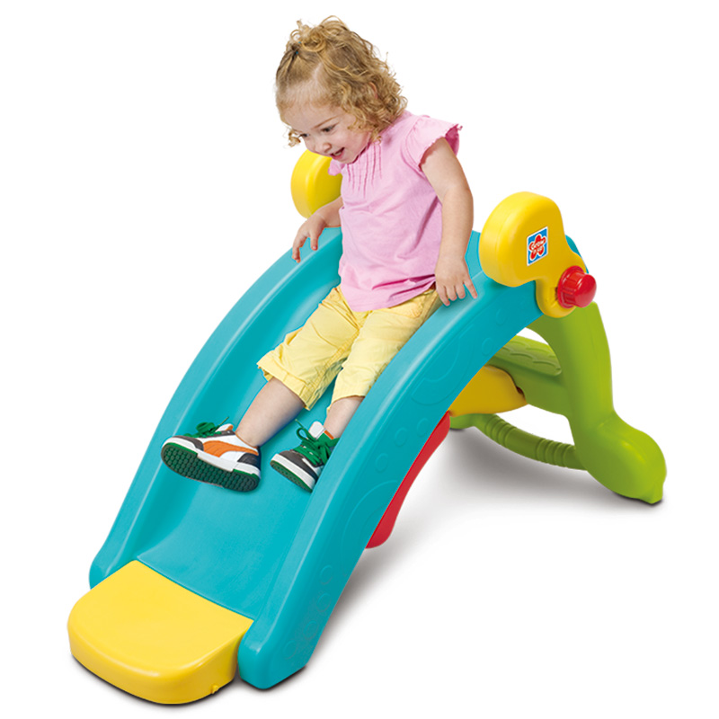 Combination Kids Indoor Playground Plastic Slides Kids ...