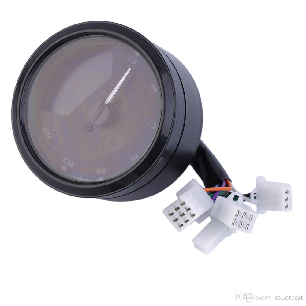 Cs Mph Universal Lcd Digital Odometer