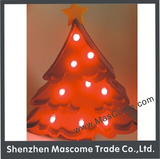 4.5 voltage ligted up Christams tree, decorative indoor light up tree