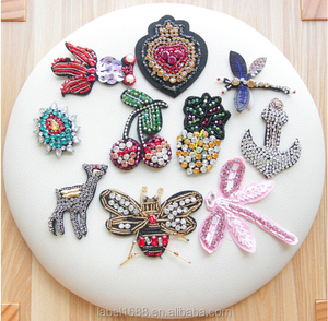 Latest Design Fashion DIY Custom Embroidery Patches For Clothing Accessory