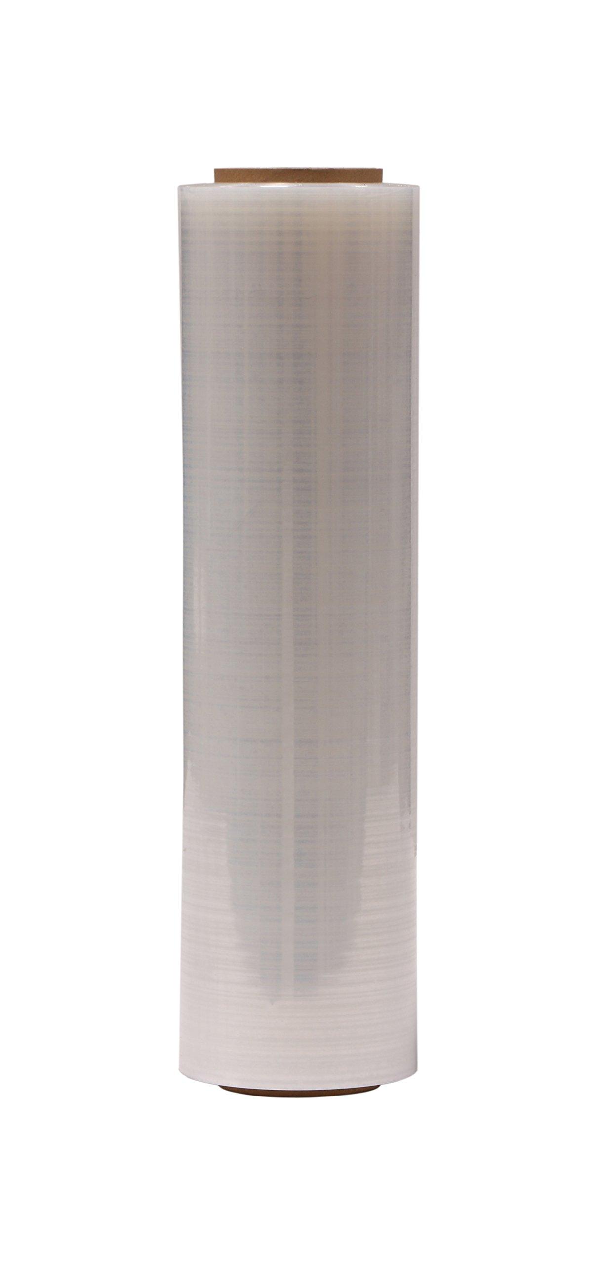 "AMERIQUE Shrink Wrap 1000FTX18"", 6.3LB Per Roll, Stretch Film Plastic Wrap - Industrial Strength Hand Stretch Wrap, 18""x 1,500 FT Per Roll, 80 Gauge Shrink Film / Pallet Wrap – Clear"