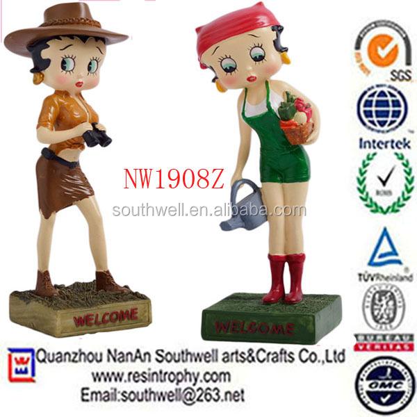 Betty boob figurines