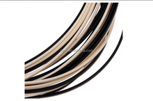 Black & Ivory <span class=keywords><strong>ABS</strong></span> Gitaar Binding Purfling Strip