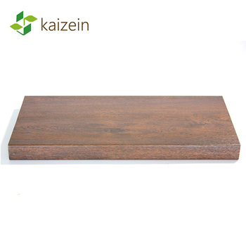 20mm thickness wooden laminated plastic pvc internal window sill board