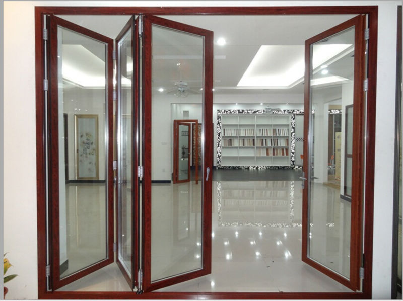 Kin Long Hardware Sliding Folding Partitionfolding Door Partition Folding Glass Windows And Doors Blind