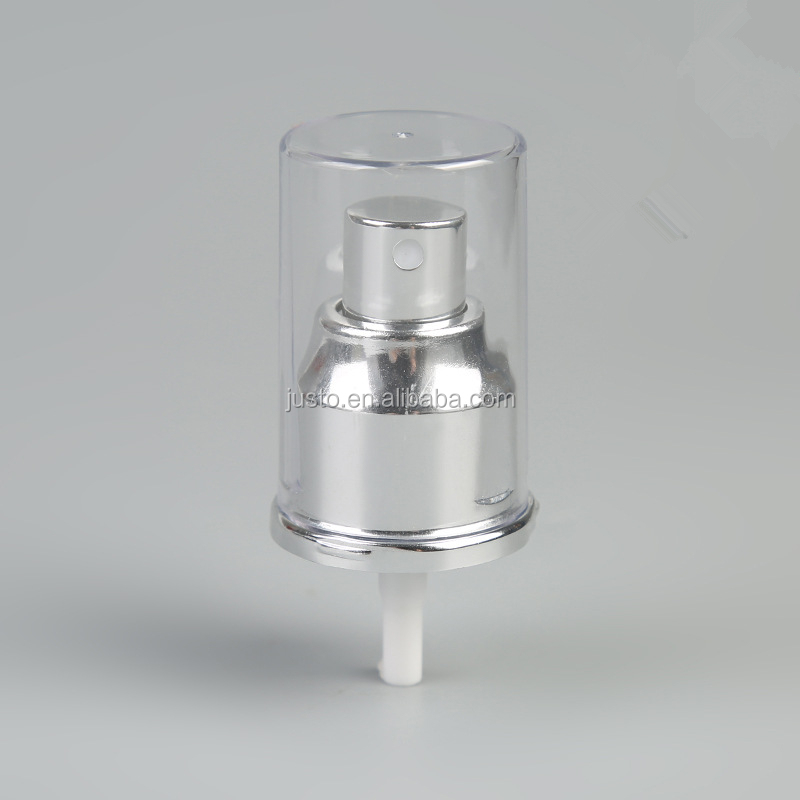20/410 Silver Pressure Fine Mist Sprayer Pump Hight Quality Perfume Sprayer Pump