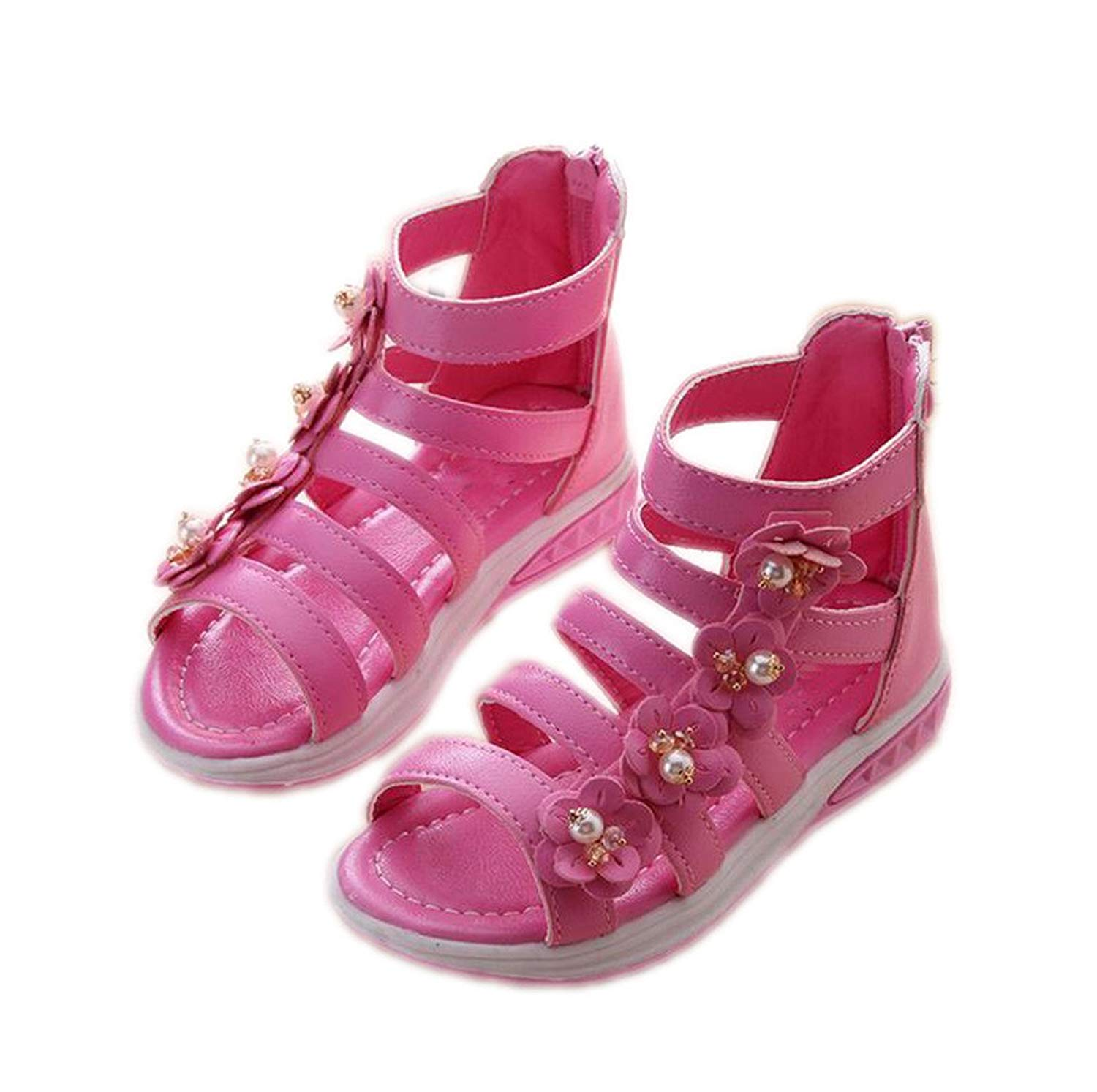 3be6650d0 Get Quotations · Summer Style Children Sandals Girls Princess Beautiful  Flower Shoes Kids Flat Sandals Baby Shoes Sneakers Girl