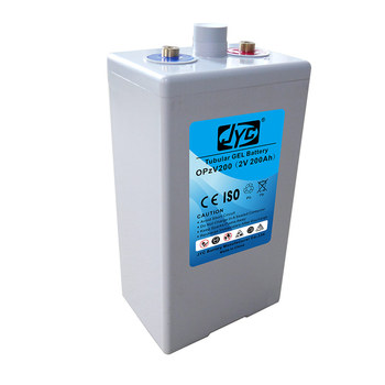 OPzV Battery 12V 200Ah Composed of 6pcs 2V 200Ah Tall Lead Acid Tubular Battery Connection in series