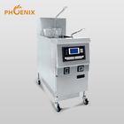 for KFC used automatically chips fryer / high quality auto-lift chicken fryer
