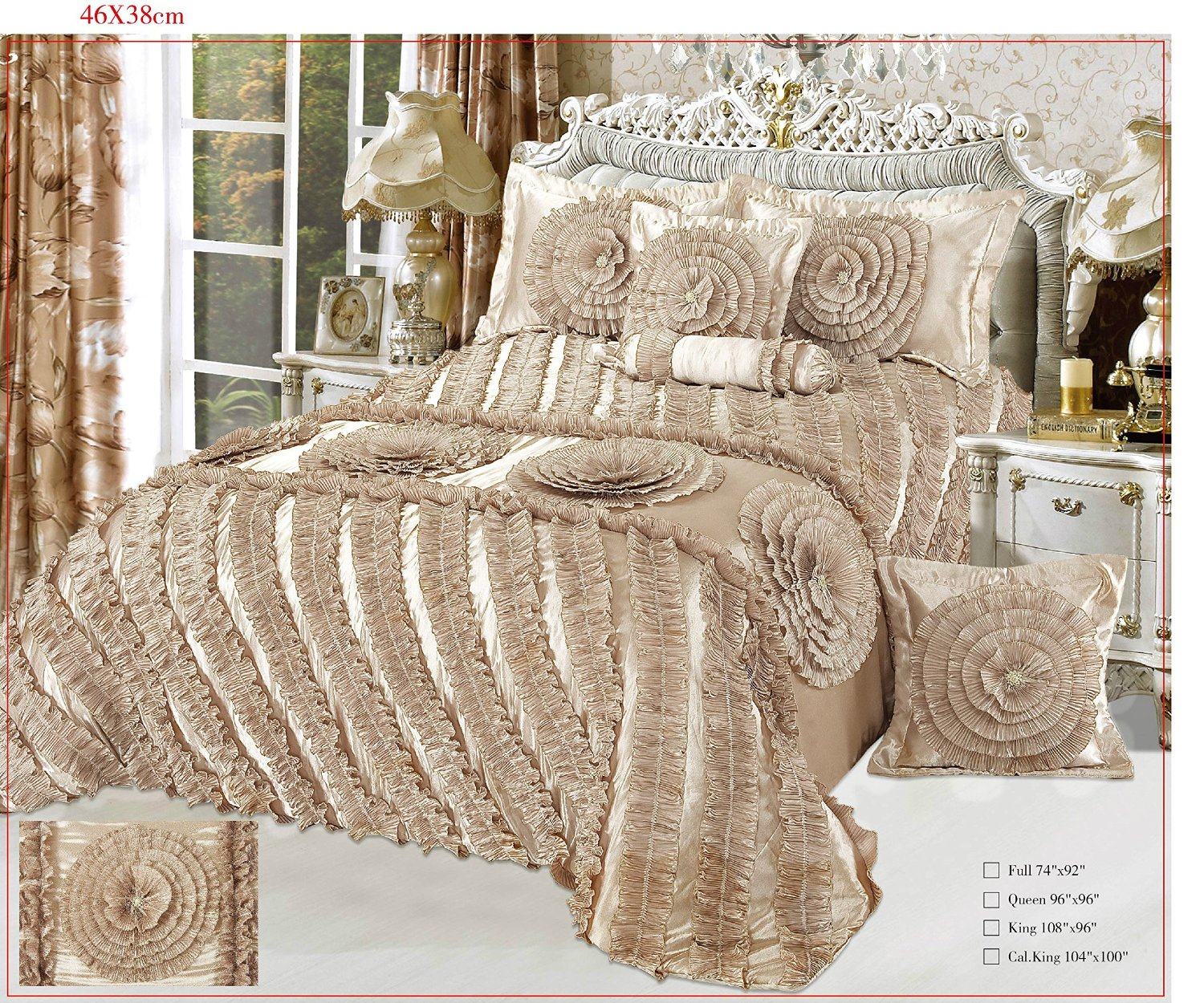 piece cool king with curtains satin bedroom comforter size roma s divano set matching queen u ncctinfo