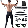 Gym Home Fitness Equipment 35LBS Kicking Boxing Explosive Force Training Resistance Bands Elastic Bands