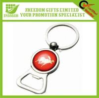 Logo design Custom Metal Bottle Opener Keychain