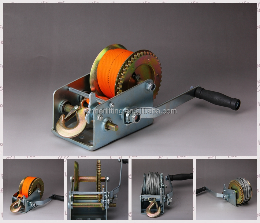 high quality manual type lashing winch