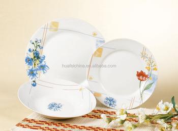Amazing Japanese Tableware Set, Floral Dining Table Set, Porcelain Dinner Sets