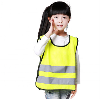 cheap wholesale high visibility reflective child safety hi vis vest kids