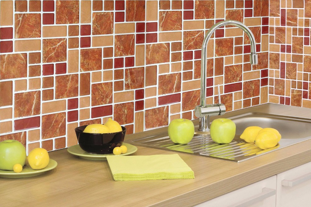 peel and stick tile mosaic peel and stick tile kitchen self ...