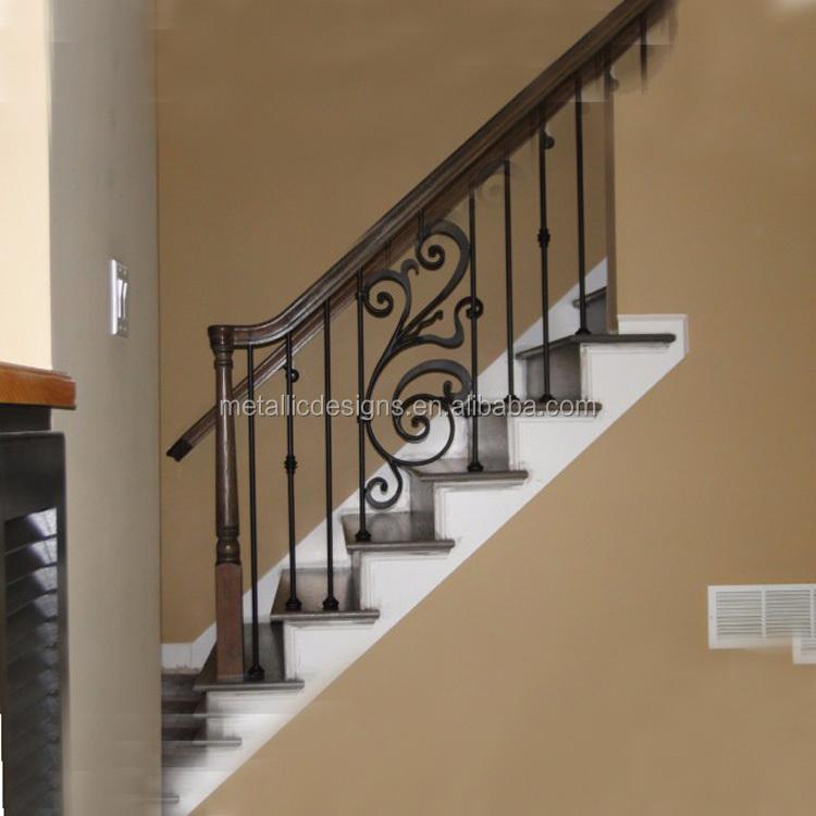 Wrought Iron Handrail Design Modern Iron Banisters Cast