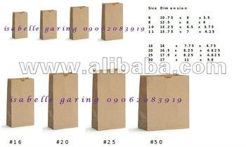 Sos Brown Paper Bag