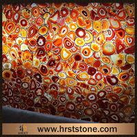 Imported high gloss raw semiprecious stone