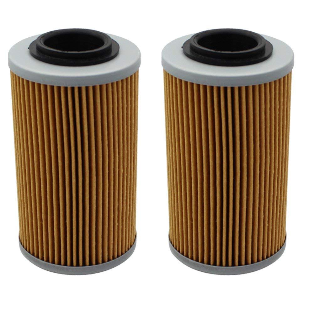 Cyleto Oil Filter for APRILIA RSV 1000 MILLE SP 2000 2001/RSV1000 MILLE 1000R NERA 2004/RSV MILLE 1000R HAGA 2003 (Pack of 2)