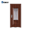 Vented Exterior Door With Security Grilles Painting Security Doors