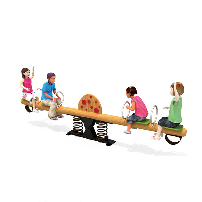 Kids Four Seats Wooden Spring Rocking Seesaw Buy Kids Rocking Seesawoutdoor Playground Seesawwooden Seesaw For Kids Product On Alibabacom