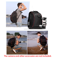 Caden K7 DSLR Photo Backpack Bag Camera Bag With Weather Cover