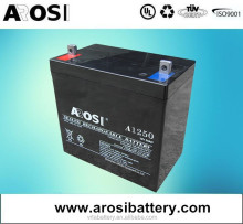 AGM Sealed Deep cycle Rechargeable Sealed Lead Acid Battery for EZIP E Zip Scooter 400 500 650 750 900 12V 12AH