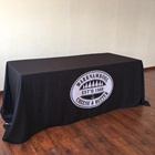 CMYK Color Trade Show Table Cloth Table Throw Fitted Table Cloth