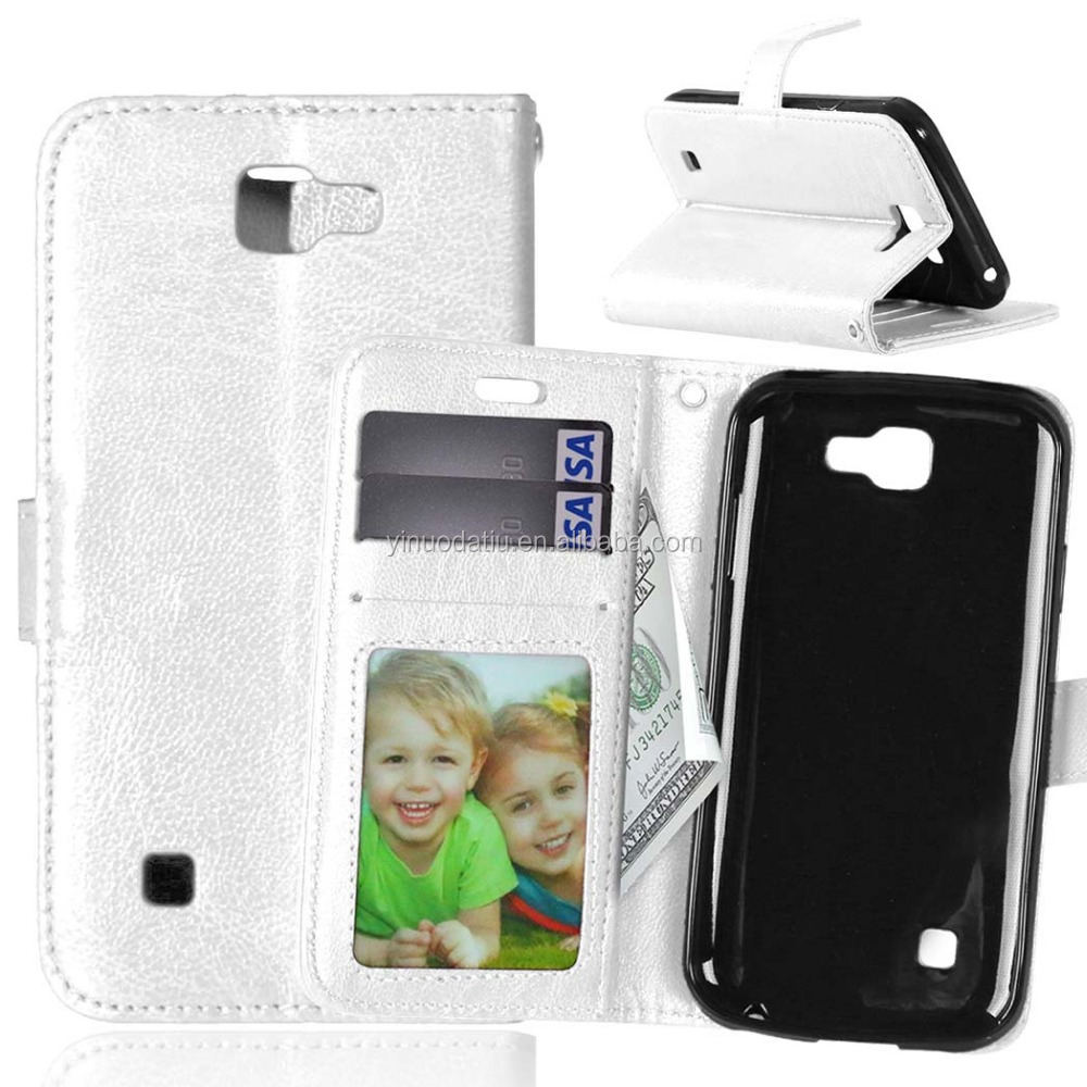 Wholesale High Quality Shockproof Case for LG K3/LS450,Book Stand Wallet Leather Flip cover for LG K3 /LS450